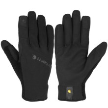 Carhartt Work Flex Touch Gloves - Touchscreen Compatible (For Men and Women) in Black - Closeouts