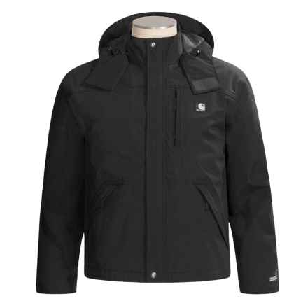 Carhartt Work Jacket - Waterproof, Factory Seconds (For Men) in Black - 2nds