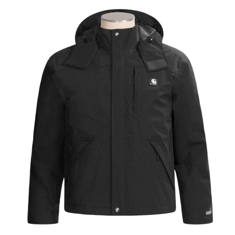Carhartt Work Jacket - Waterproof, Factory Seconds (For Men) in Black