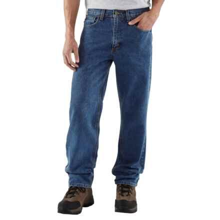 Carhartt Work Jeans - Denim (For Men) in Dark Stone Wash - 2nds