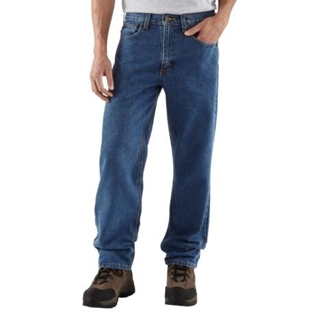 Carhartt Work Jeans - Denim (For Men) in Dark Stone Wash