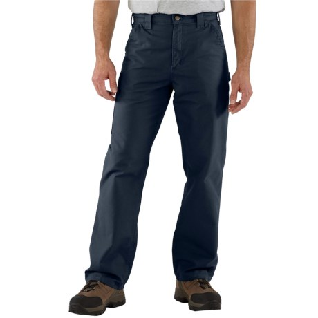Carhartt Work Jeans - Washed Canvas, Factory Seconds (For Men)