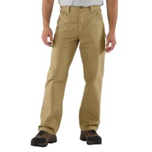 Carhartt Work Jeans - Washed Canvas (For Men) in Dark Khaki - 2nds