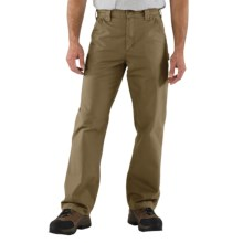 Carhartt Work Jeans - Washed Canvas (For Men) in Light Brown - 2nds
