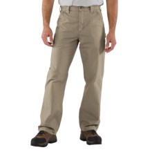 Carhartt Work Jeans - Washed Canvas (For Men) in Tan - 2nds