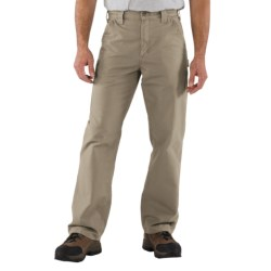 Carhartt Work Jeans - Washed Canvas (For Men) in Light Brown