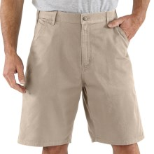 Carhartt Work Shorts - Cotton Twill (For Men) in Tan - 2nds