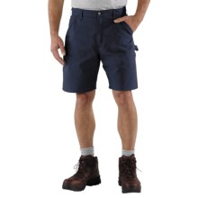Carhartt Work Shorts (For Men) in Navy - 2nds
