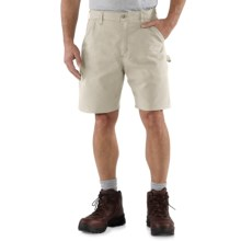 Carhartt Work Shorts (For Men) in Putty - 2nds