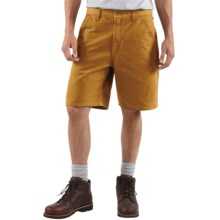 Carhartt Work Shorts - Washed Duck (For Men) in Carhartt Brown - 2nds