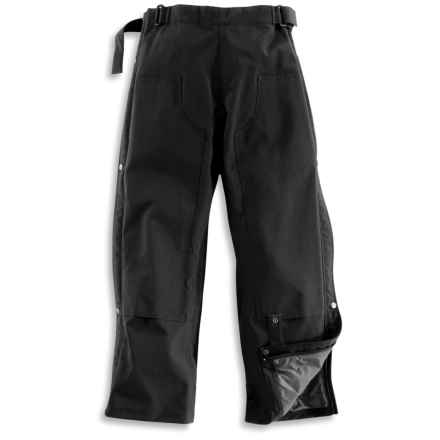 Carhartt Work Waist Overall Pants - Waterproof (For Women) in Black - 2nds