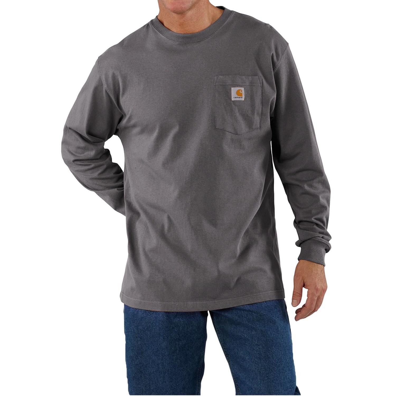 Carhartt work wear shirt for tall men for Tall mens work shirts