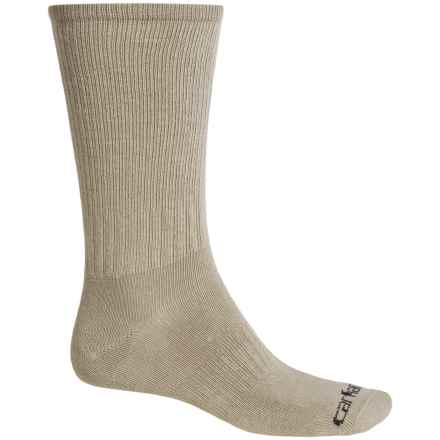 Carhartt Work Wear Socks - 3-Pack, Crew (For Men) in Khaki - Closeouts