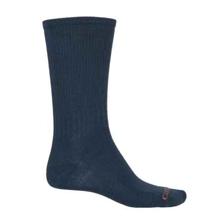 Carhartt Work Wear Socks - 3-Pack, Crew (For Men) in Navy - Closeouts