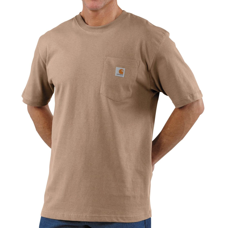 carhartt work wear t-shirt (for men)