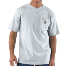 Carhartt Work Wear T-Shirt - Short Sleeve (For Men) in Ash - 2nds