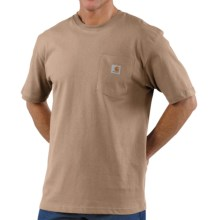 Carhartt Work Wear T-Shirt - Short Sleeve (For Men) in Desert - 2nds