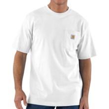 Carhartt Work Wear T-Shirt - Short Sleeve (For Men) in White - 2nds