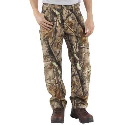 Carhartt WorkCamo® AP Dungaree Pants - Factory Seconds (For Men) in Realtree Hardwoods Ap - 2nds