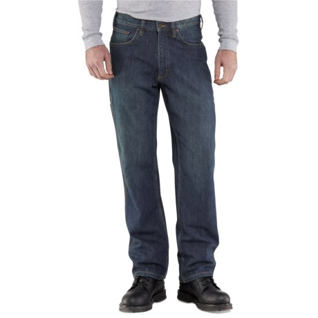 Carhartt Workflex Linden Jeans - Relaxed Fit, Factory Seconds (For Men) in Rustic Worn
