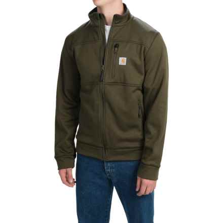 Carhartt Workman Polartec® Fleece Jacket (For Big and Tall Men) in Moss - 2nds
