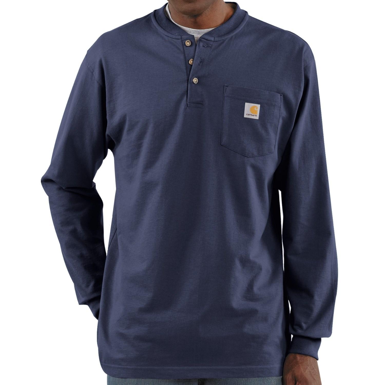Carhartt Workwear Henley Shirt For Tall Men