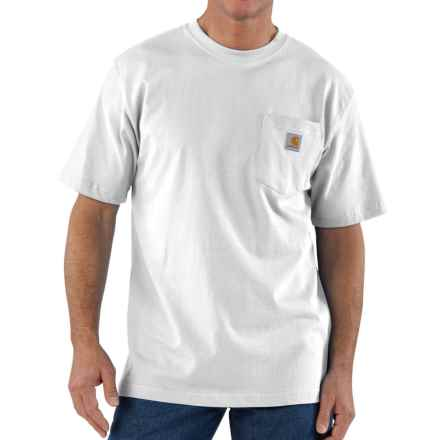 Carhartt Workwear Pocket T-Shirt - Short Sleeve, Factory Seconds (For Men) in White - 2nds