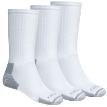 Carhartt Workwear Socks - 3-Pack, Crew (For Men) in White - 2nds