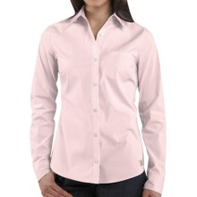 Carhartt Woven Shirt - Long Sleeve (For Women) in Ice Pink - 2nds