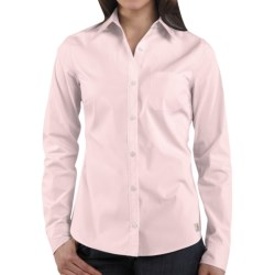 Carhartt Woven Shirt - Long Sleeve (For Women) in Ice Pink