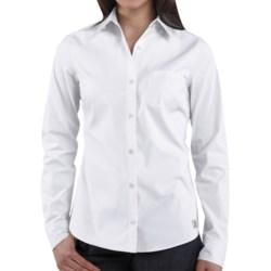 Carhartt Woven Shirt - Long Sleeve (For Women) in Blue Frost