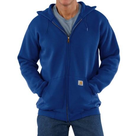 Carhartt Zip Hoodie - Factory Seconds (For Men) in Cobalt Blue