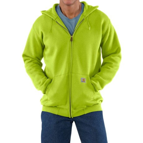 Carhartt Zip Hoodie - Factory Seconds (For Men) in Sour Apple