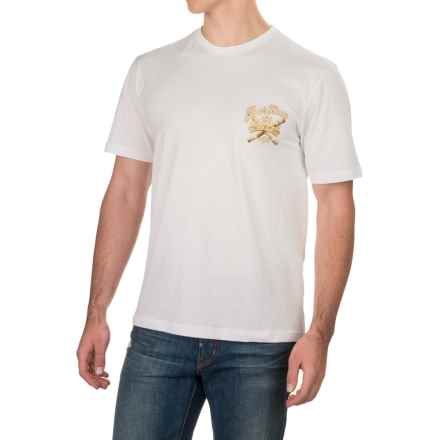 Caribbean Joe Four Kings T-Shirt - Short Sleeve (For Men) in White - Closeouts
