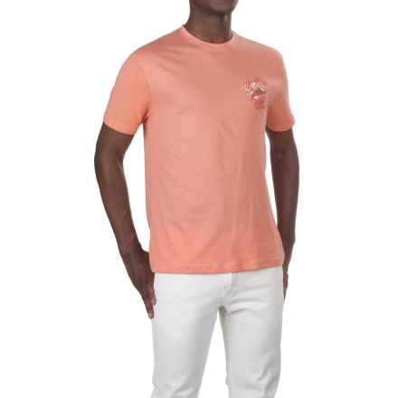Caribbean Joe Great Catch T-Shirt - Short Sleeve (For Men) in Beach Blush - Closeouts