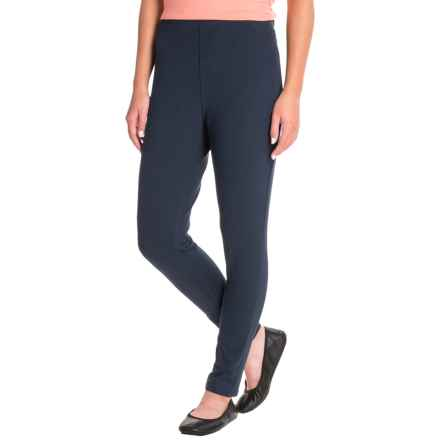 Caribbean Joe Knit Pull-On Pants (For Women) in Military Blue - Closeouts