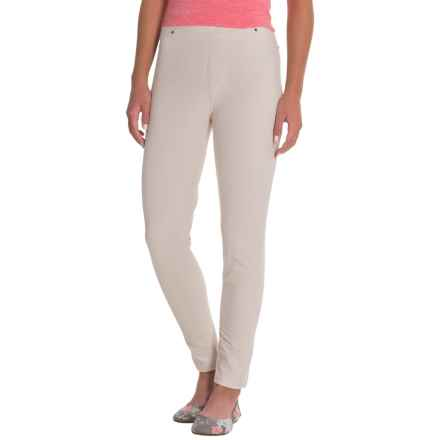 Caribbean Joe Knit Pull-On Pants (For Women) in Sand - Closeouts
