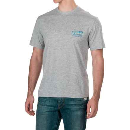 Caribbean Joe Neptunes T-Shirt - Short Sleeve (For Men) in Light Heather Grey - Closeouts