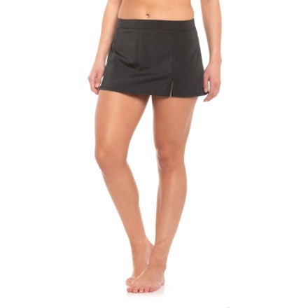 ff1303fb63cb2 Caribbean Joe Side Slit Swim Skirt (For Women) in Black - Closeouts