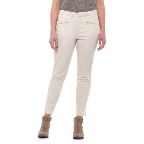 Caribbean Joe Slim Ankle Pants (For Women) in Sand