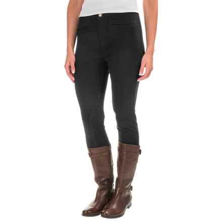 Caribbean Joe Slim-Leg Riding Pants (For Women) in Black - Closeouts