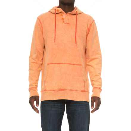 Caribbean Joe Sun-Washed Hoodie (For Men) in Strike Red - Closeouts