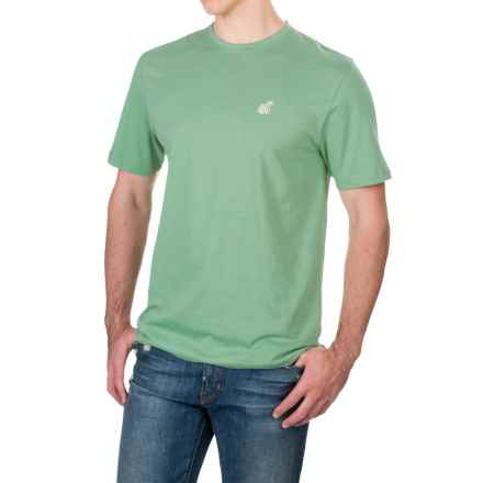 Caribbean Joe Sunset Key T-Shirt - Short Sleeve (For Men) in Grenada Green - Closeouts