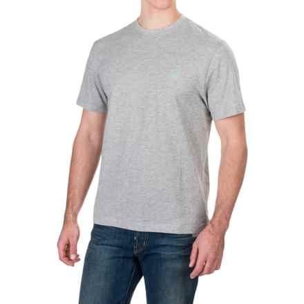 Caribbean Joe Sunset Key T-Shirt - Short Sleeve (For Men) in Light Heather Grey - Closeouts