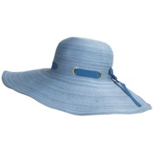Caribbean Joe Swinger Hat (For Women) in Blue Combo - Closeouts