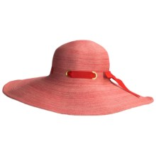Caribbean Joe Swinger Hat (For Women) in Red Combo - Closeouts