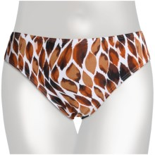 Caribbean Sand Classic Swimsuit Bottoms (For Women) in Flame Brown - Closeouts