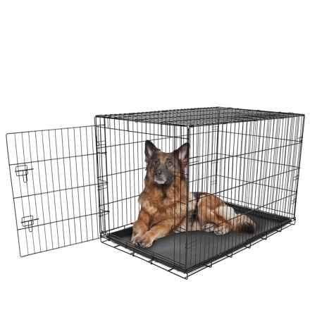 Carlson Pet Products Dog Crate - Extra Large in Black - Closeouts