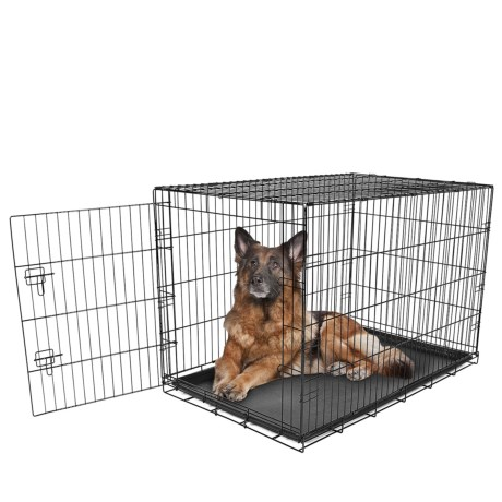 Carlson Pet Products Dog Crate - Extra Large in Black