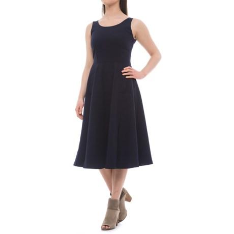 Carmen Marc Valvo Scoop Neck Dress - Sleeveless (For Women)